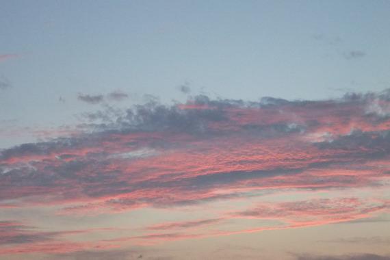 early autumn sky 2015
