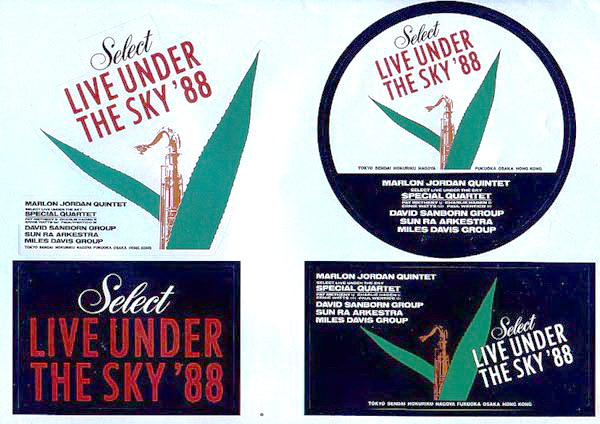 live under the sky 88
